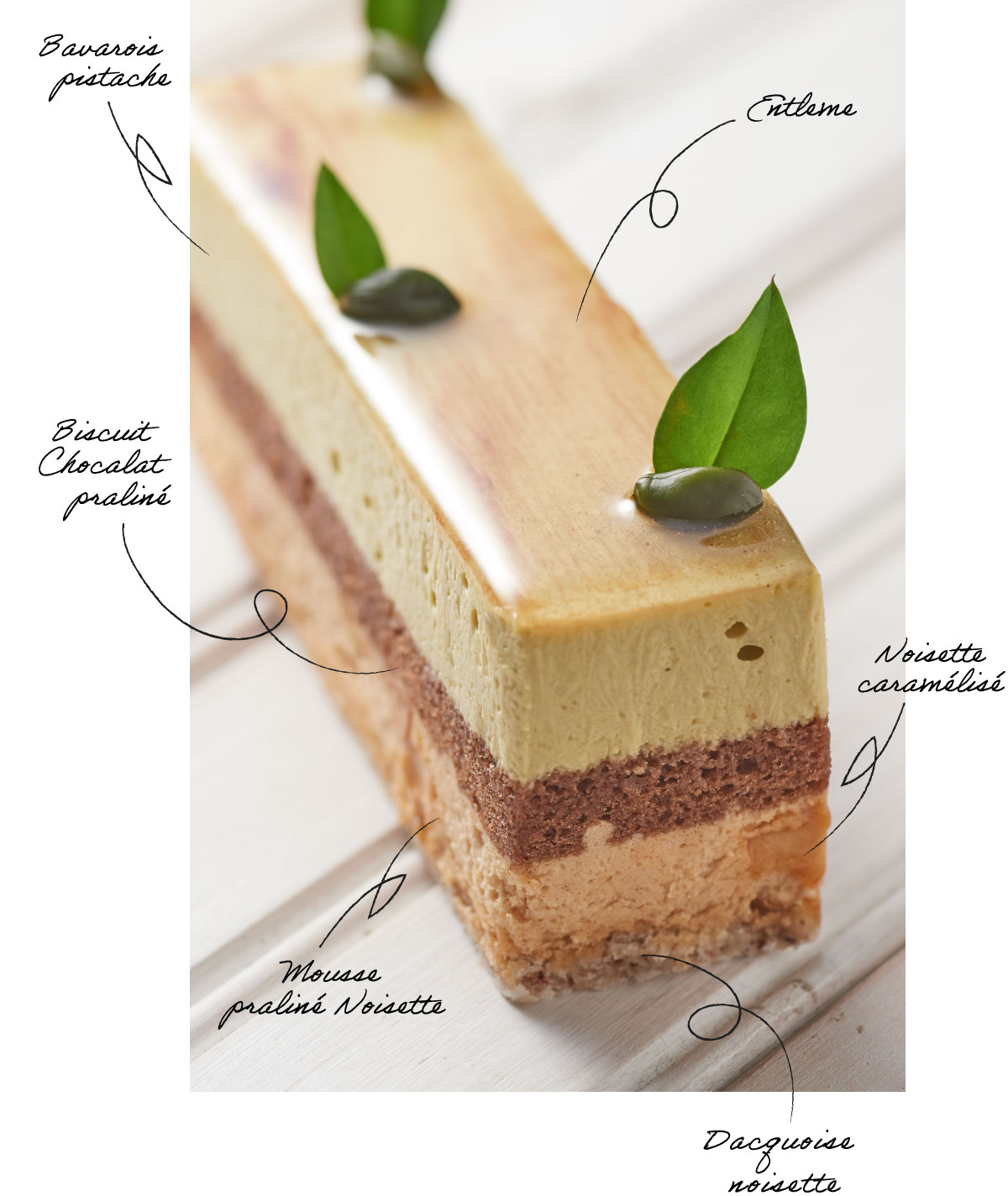 エトネのベースケーキ、ミラノ